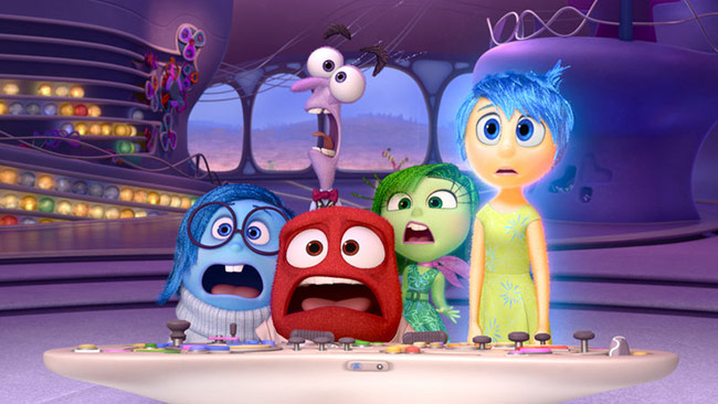 Inside Out – a Story Of Basic Human Emotions