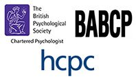 Registered with the Health Professions Council, The British Psychological Society and the BABCP