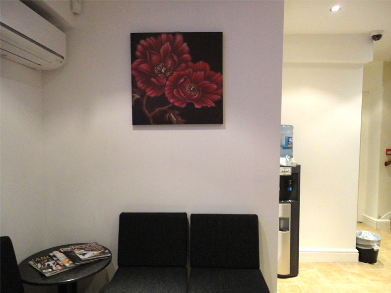 The Reception Area at the Marylebone Clinic
