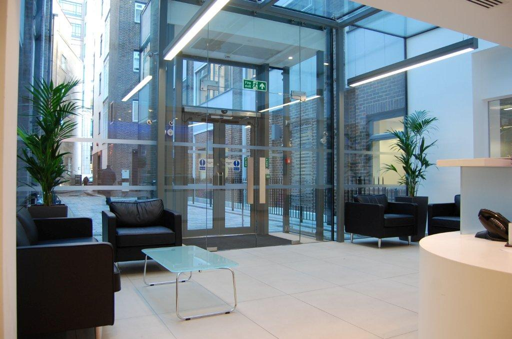 The Reception Area at the Liverpool Street Clinic