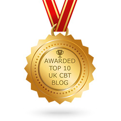 Awarded Top 10 UK CBT Blog